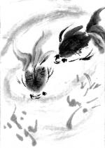 聖霊降臨節第12主日 金魚 小林百世絵